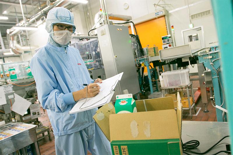 大手乳業メーカーのクリーム類製造オペレーター